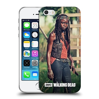 Official Amc The Walking Dead Michonne Stare Soft Gel Case For Apple Iphone 5 / 5S / Se