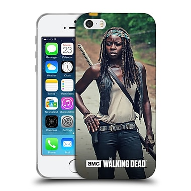 Official Amc The Walking Dead Michonne Stance Soft Gel Case For Apple Iphone 5 / 5S / Se