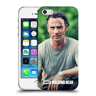Official Amc The Walking Dead Rick Grimes Half Body Soft Gel Case For Apple Iphone 5 / 5S / Se