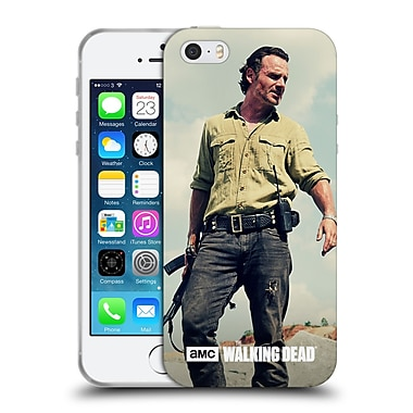 Official Amc The Walking Dead Rick Grimes Stance Soft Gel Case For Apple Iphone 5 / 5S / Se