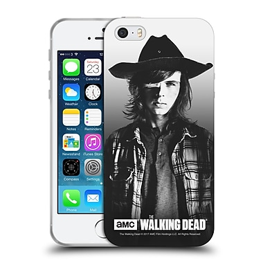 Official Amc The Walking Dead Filtered Portraits Carl Soft Gel Case For Apple Iphone 5 / 5S / Se