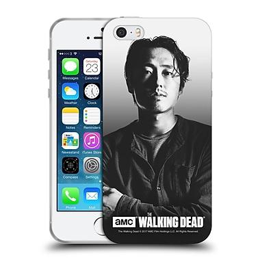 Official Amc The Walking Dead Filtered Portraits Glenn Soft Gel Case For Apple Iphone 5 / 5S / Se