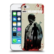 Official Amc The Walking Dead Silhouettes Rick Soft Gel Case For Apple Iphone 5 / 5S / Se