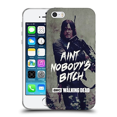 Official Amc The Walking Dead Typography Daryl Soft Gel Case For Apple Iphone 5 / 5S / Se