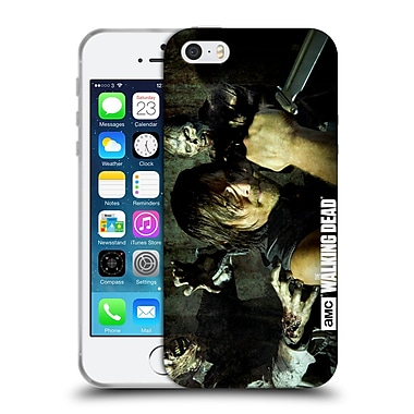 Official Amc The Walking Dead Walker Character Daryl Knife Soft Gel Case For Apple Iphone 5 / 5S / Se
