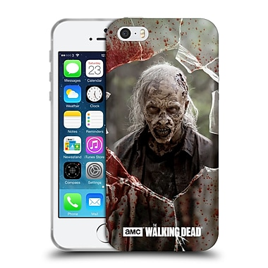 Official Amc The Walking Dead Walkers Angry Soft Gel Case For Apple Iphone 5 / 5S / Se
