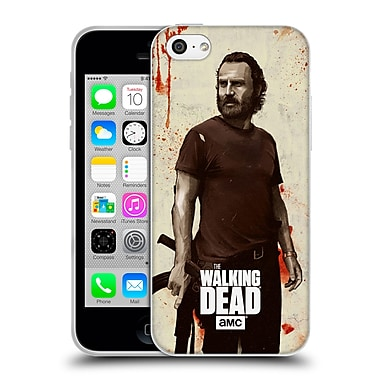 Official Amc The Walking Dead Distressed Illustrations Rick Soft Gel Case For Apple Iphone 5C