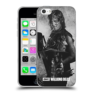 Official Amc The Walking Dead Exposure Daryl Soft Gel Case For Apple Iphone 5C