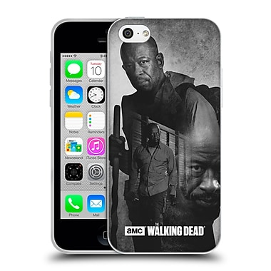 Official Amc The Walking Dead Exposure Morgan Soft Gel Case For Apple Iphone 5C