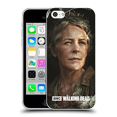 Official Amc The Walking Dead Filtered Characters Carol Soft Gel Case For Apple Iphone 5C