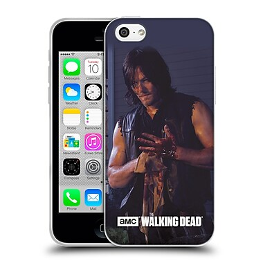 Official Amc The Walking Dead Filtered Characters Daryl Soft Gel Case For Apple Iphone 5C