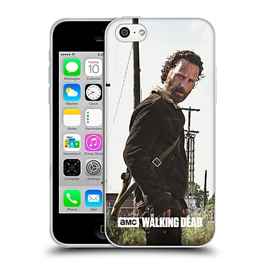 Official Amc The Walking Dead Filtered Characters Rick Gun Soft Gel Case For Apple Iphone 5C
