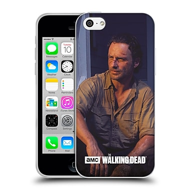 Official Amc The Walking Dead Filtered Characters Rick Soft Gel Case For Apple Iphone 5C
