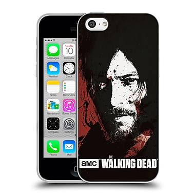 Official Amc The Walking Dead Gore Blood Bath Daryl Soft Gel Case For Apple Iphone 5C