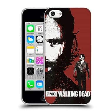 Official Amc The Walking Dead Gore Bloody Face Rick Soft Gel Case For Apple Iphone 5C