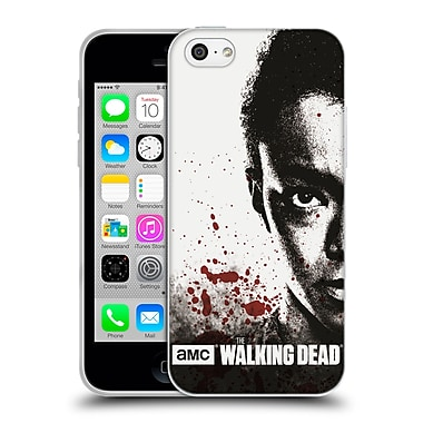Official Amc The Walking Dead Gore Half Face Sasha Soft Gel Case For Apple Iphone 5C