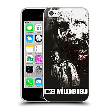 Official Amc The Walking Dead Gore Morgan And Lurker Soft Gel Case For Apple Iphone 5C
