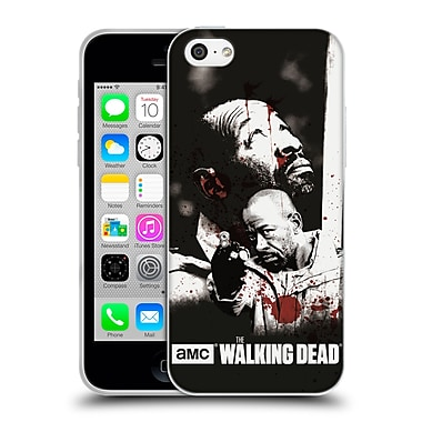 Official Amc The Walking Dead Gore Morgan Soft Gel Case For Apple Iphone 5C