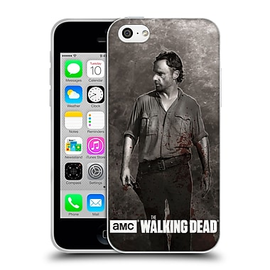 Official Amc The Walking Dead Gore Rick Grimes Soft Gel Case For Apple Iphone 5C