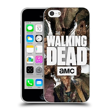 Official Amc The Walking Dead Logo Group Soft Gel Case For Apple Iphone 5C