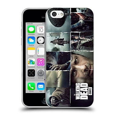 Official Amc The Walking Dead Logo Key Art Horizontal Soft Gel Case For Apple Iphone 5C