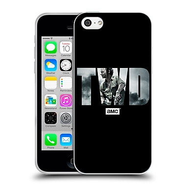Official Amc The Walking Dead Logo Portrait Soft Gel Case For Apple Iphone 5C