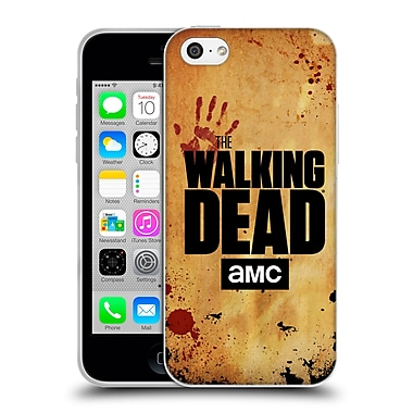 Official Amc The Walking Dead Logo Stacked Soft Gel Case For Apple Iphone 5C