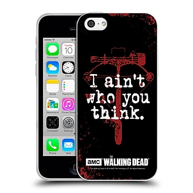 Official Amc The Walking Dead Quotes Daryl Think Soft Gel Case For Apple Iphone 5C