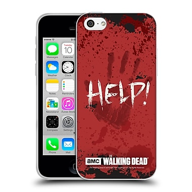 Official Amc The Walking Dead Quotes Help Soft Gel Case For Apple Iphone 5C
