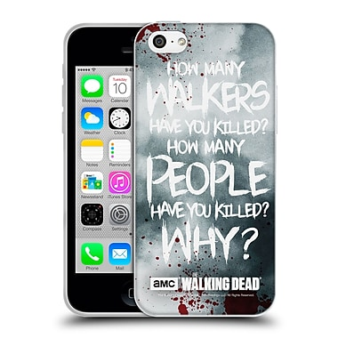 Official Amc The Walking Dead Quotes Rick Questions Soft Gel Case For Apple Iphone 5C