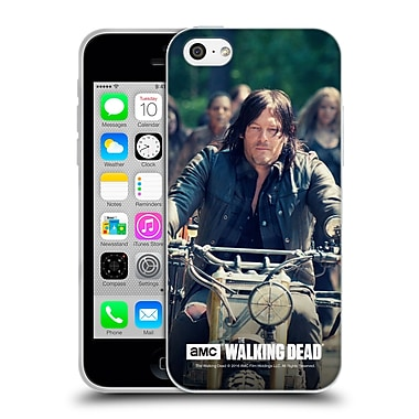 Official Amc The Walking Dead Daryl Dixon Bike Ride Soft Gel Case For Apple Iphone 5C