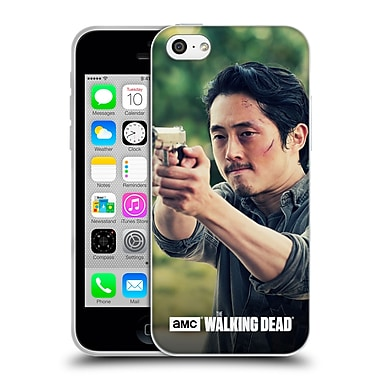 Official Amc The Walking Dead Glenn Rhee Pointing Gun Soft Gel Case For Apple Iphone 5C