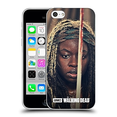Official Amc The Walking Dead Michonne Bloody Sword Soft Gel Case For Apple Iphone 5C