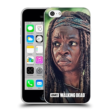 Official Amc The Walking Dead Michonne Face Soft Gel Case For Apple Iphone 5C