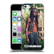 Official Amc The Walking Dead Michonne Stare Soft Gel Case For Apple Iphone 5C