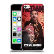 Official Amc The Walking Dead Negan Eeny Miney Coloured Soft Gel Case For Apple Iphone 5C