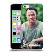 Official Amc The Walking Dead Rick Grimes Half Body Soft Gel Case For Apple Iphone 5C