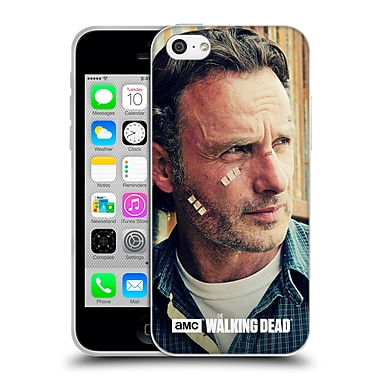 Official Amc The Walking Dead Rick Grimes Cuts And Bandages Soft Gel Case For Apple Iphone 5C