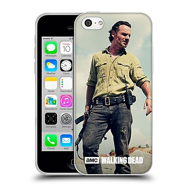 Official Amc The Walking Dead Rick Grimes Stance Soft Gel Case For Apple Iphone 5C