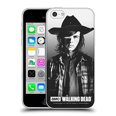 Official Amc The Walking Dead Filtered Portraits Carl Soft Gel Case For Apple Iphone 5C