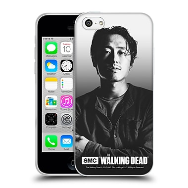 Official Amc The Walking Dead Filtered Portraits Glenn Soft Gel Case For Apple Iphone 5C