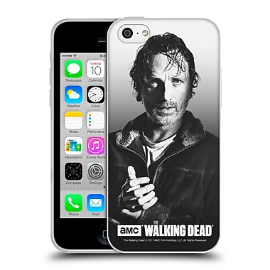 Official Amc The Walking Dead Filtered Portraits Rick Soft Gel Case For Apple Iphone 5C