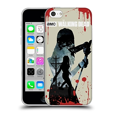 Official Amc The Walking Dead Silhouettes Michonne Soft Gel Case For Apple Iphone 5C