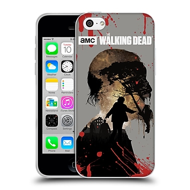 Official Amc The Walking Dead Silhouettes Walker Soft Gel Case For Apple Iphone 5C