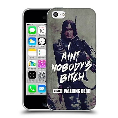 Official Amc The Walking Dead Typography Daryl Soft Gel Case For Apple Iphone 5C