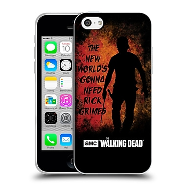 Official Amc The Walking Dead Typography Gonna Need Rick Soft Gel Case For Apple Iphone 5C