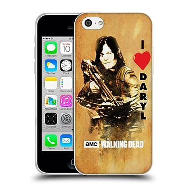 Official Amc The Walking Dead Typography Love Daryl Crossbow Soft Gel Case For Apple Iphone 5C