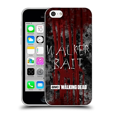 Official Amc The Walking Dead Typography Walker Bait Soft Gel Case For Apple Iphone 5C