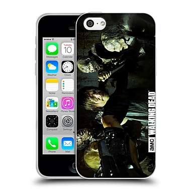 Official Amc The Walking Dead Walker Character Daryl Gun Soft Gel Case For Apple Iphone 5C