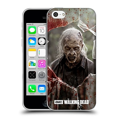 Official Amc The Walking Dead Walkers Angry Soft Gel Case For Apple Iphone 5C